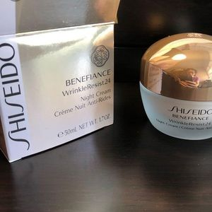 🆕Shiseido BENEFIANCE WrinkleResist24 Night Cream